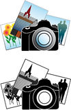 Camera photos Royalty Free Stock Photos