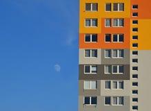 Camera prefabbricata colorata Immagine Stock