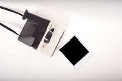 Camera and Print royalty free stock images