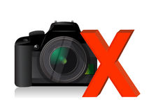 Camera problems Royalty Free Stock Images