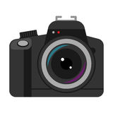 Camera professional photography icon vector illustration Royalty Free Stock Photo