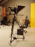 Camera Prompter stock photography