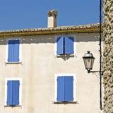 Camera in Provenza. Villaggio francese Fotografie Stock