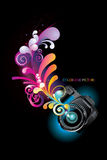 Camera reflex vector illustration Stock Photography