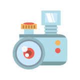 Camera related icon design Royalty Free Stock Photos