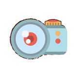Camera related icon design Stock Image