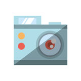 Camera related icon design Royalty Free Stock Images