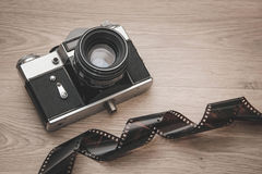 Camera retro. Stock Photo