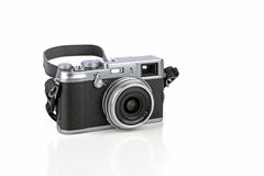 Camera with retro look Royalty Free Stock Images