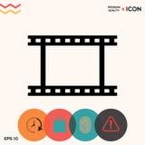 Camera Roll, photographic film, camera film symbol icon. Element for your design Stock Photo