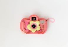 Camera rosa Immagini Stock