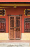 Camera rossa di eredità, Penang, Malesia immagini stock