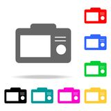 Camera screen icons. Elements of human web colored icons. Premium quality graphic design icon. Simple icon for websites, web desig. N, mobile app, info graphics Stock Photo