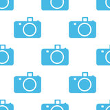 Camera seamless pattern Royalty Free Stock Images