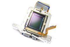 Camera sensor Royalty Free Stock Photography