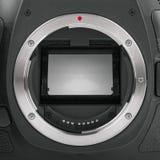 Camera sensor mirror Stock Photography