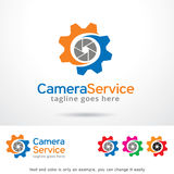 Camera Service Logo Template Design Vector Stock Images
