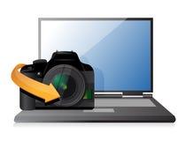 Camera setting tool Stock Photo