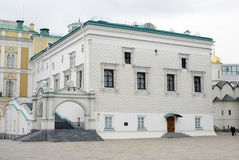 Camera sfaccettata del Cremlino di Mosca Foto a colori Fotografia Stock