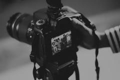 Camera shooting video royalty free stock photos