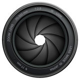 Camera shutter Stock Photo