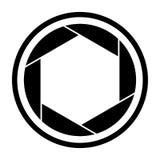 Camera shutter icon symbol and shutter blade vector. Camera shutter icon symbol and shutter blade of camera vector illustration vector illustration