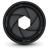 Camera shutter Royalty Free Stock Images
