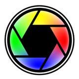 Camera shutter symbols vector illustration Stock Photos
