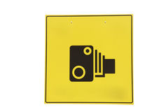 Camera sign Royalty Free Stock Photo