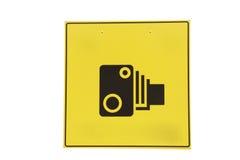 Camera sign Royalty Free Stock Photo
