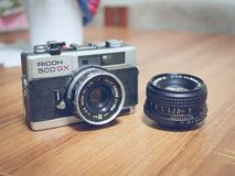 Camera, Slr, Dslr, Lens, Vintage Stock Images