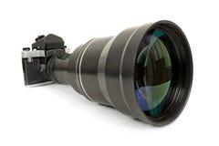 Camera SLR en lens Stock Foto's