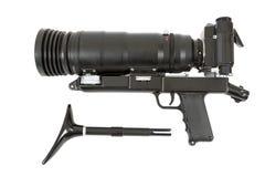 Camera SLR met grote lens Royalty-vrije Stock Foto