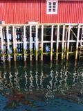 Camera sopra un fiume Fotografia Stock