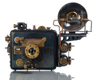 Camera steampunk Royalty Free Stock Photo
