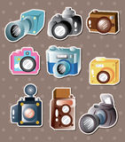 Camera stickers Stock Photo