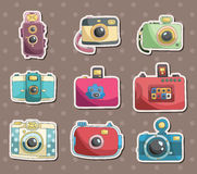Camera stickers Royalty Free Stock Photography