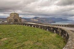 Camera storica del Vista sul punto della parte superiore nell'Oregon Immagine Stock Libera da Diritti