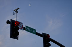 CAmera street lights Stock Images