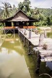 Camera sul lago Fotografie Stock Libere da Diritti