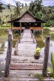 Camera sul lago Immagini Stock