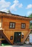 Camera sul tetto in Szymbark Immagini Stock