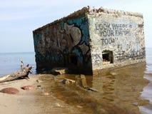 Camera sull'acqua Immagine Stock