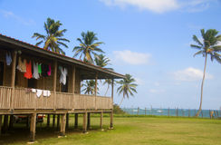 Camera sull'isola Nicaragua del cereale del mare caraibico Immagine Stock