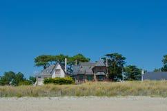 Camera sulla spiaggia Fotografia Stock Libera da Diritti