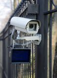 Camera surveillance outdoor Royalty Free Stock Images