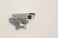 Camera surveillance Royalty Free Stock Photos