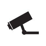 Camera surveillance security vigilance pictogram Royalty Free Stock Image