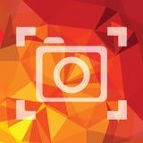 Camera symbol Stock Photo