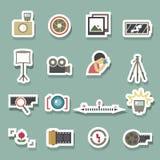 Camera symbol vector Royalty Free Stock Image